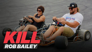 Rob and Dana Linn Bailey Wrestle Their Goats and Hit The Drift Track | Kill Rob Bailey