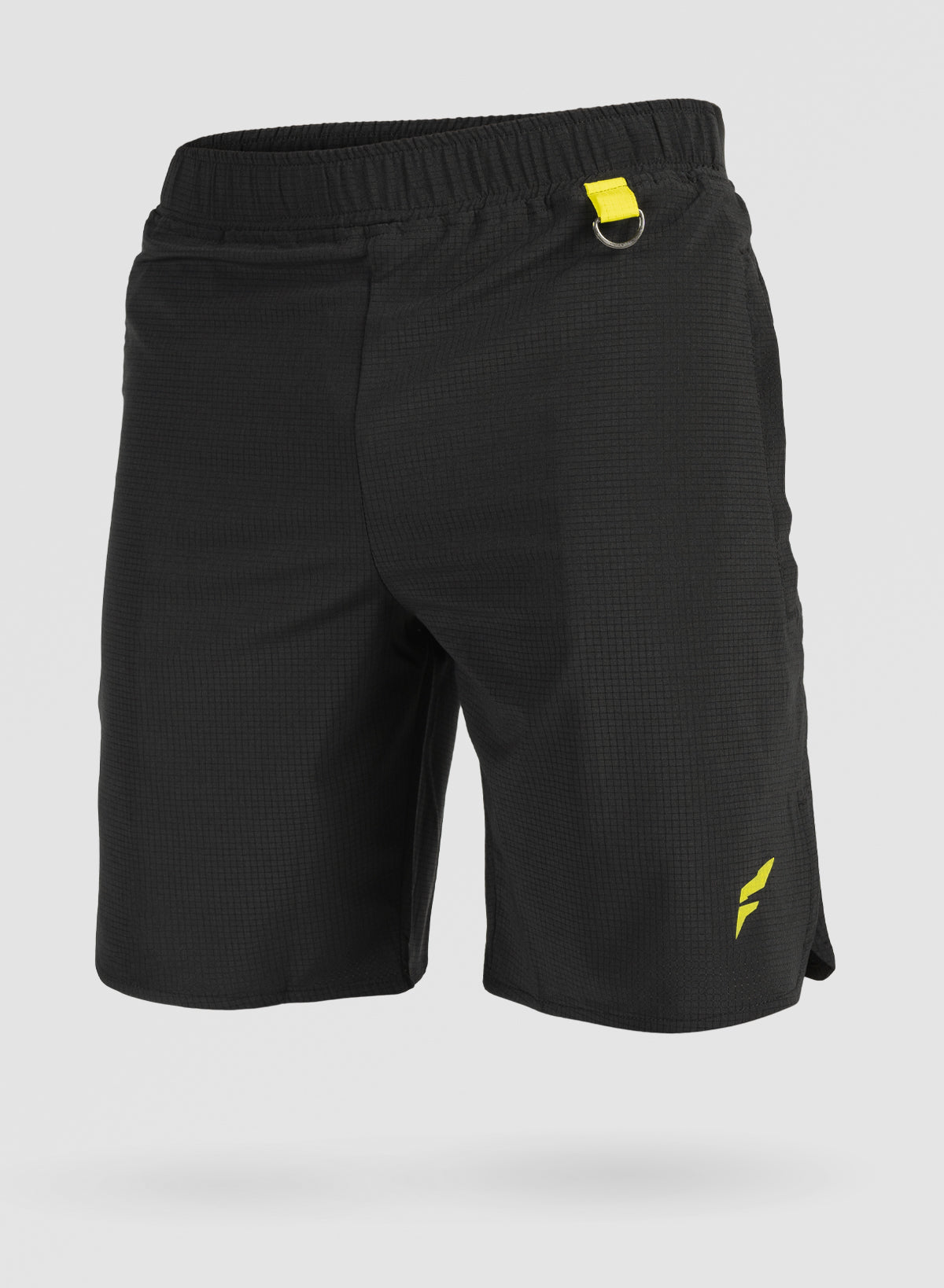 MEN'S TEK TRAINING SHORTS- BLACK
