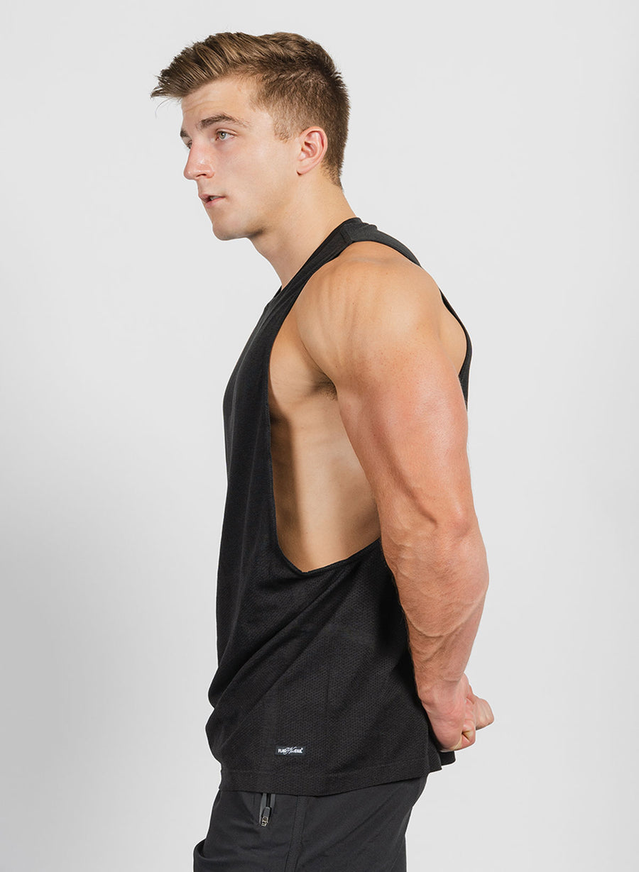MEN'S TEK TANK - BLACK