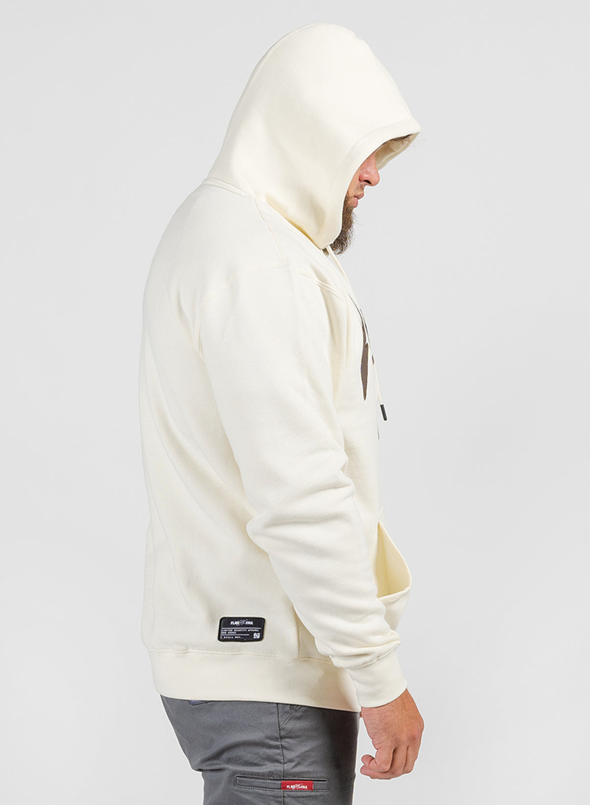 FNF STATIC FLEECE - BONE