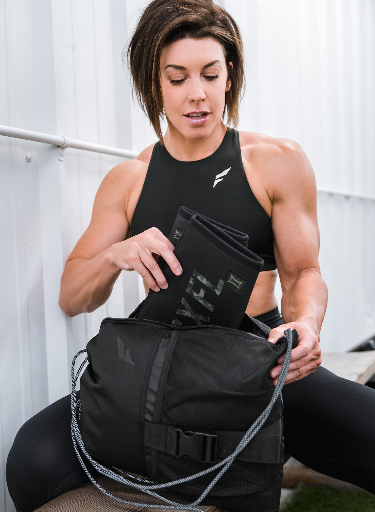 GYM BRO BAG LITE - BLACK
