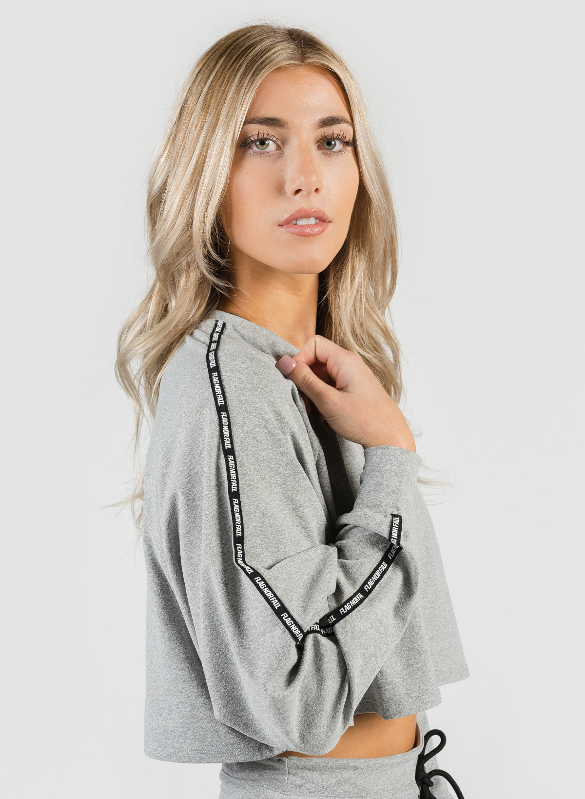 DOLMAN CROP - GRAY