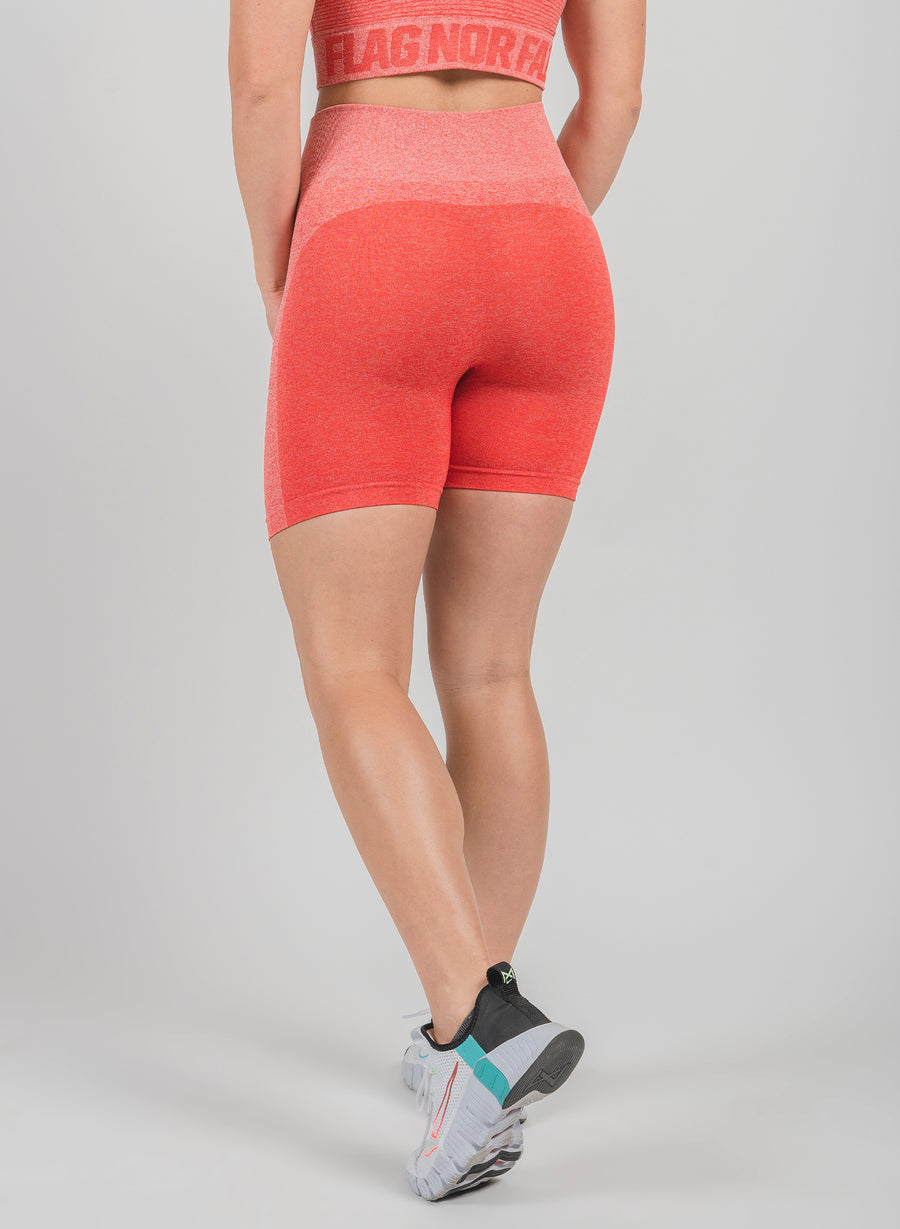 FNF SEAMLESS BIKER SHORTS - RED