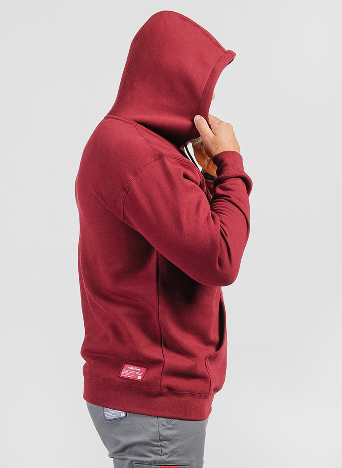 FNF STATIC FLEECE - MAROON