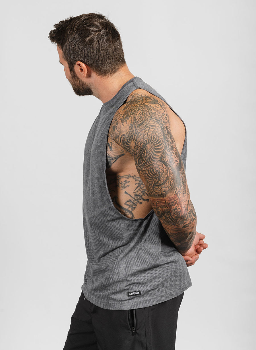 MEN'S TEK TANK - GREY