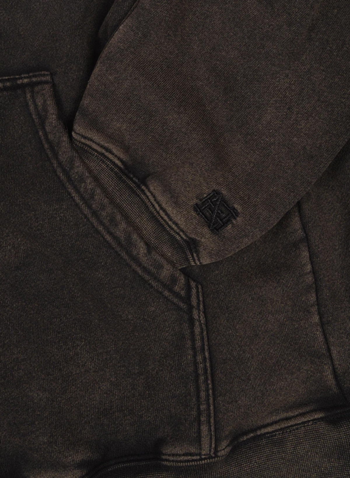 FNF STATIC FLEECE - STONE WASH