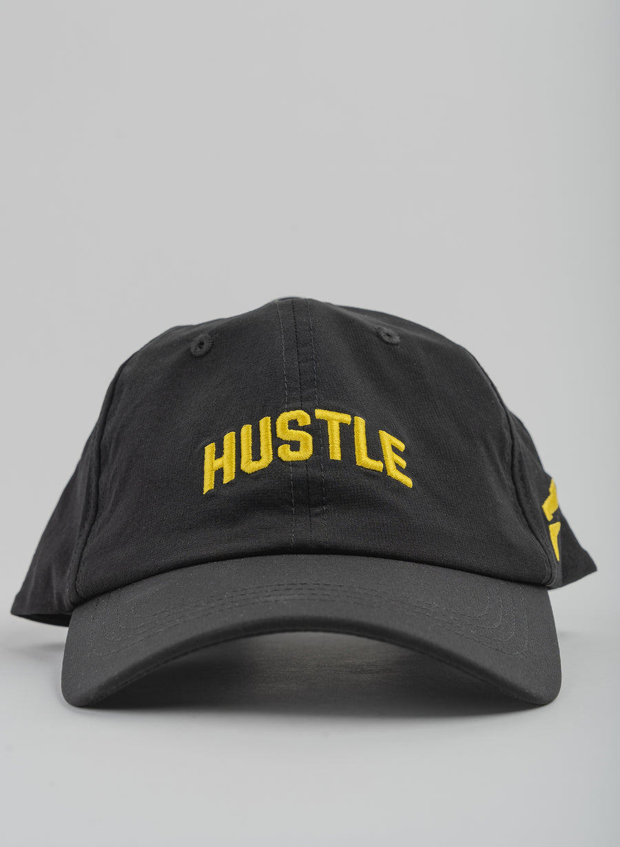 HUSTLE ATHLETIC HAT - BLACK