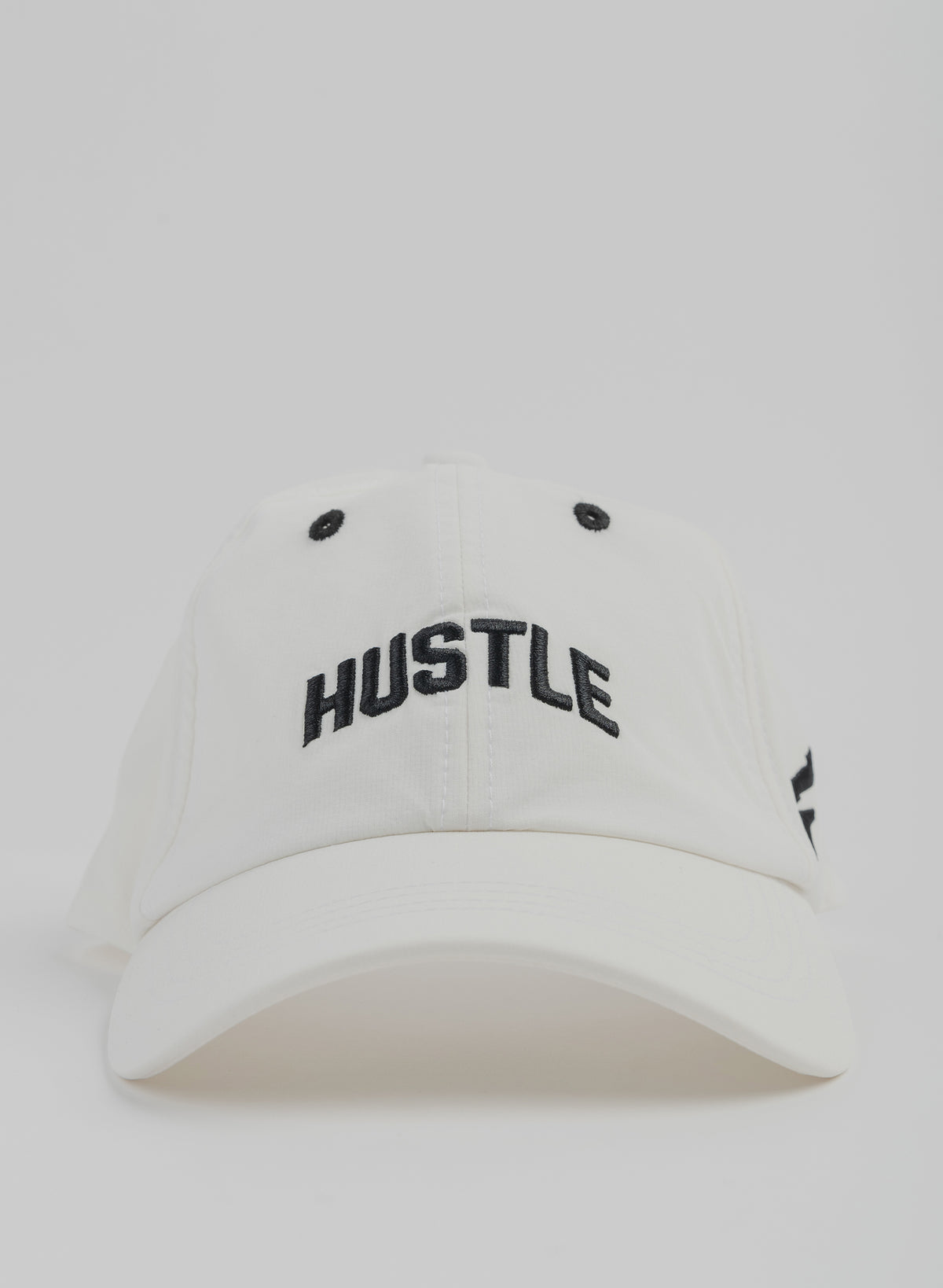 HUSTLE ATHLETIC HAT - WHITE