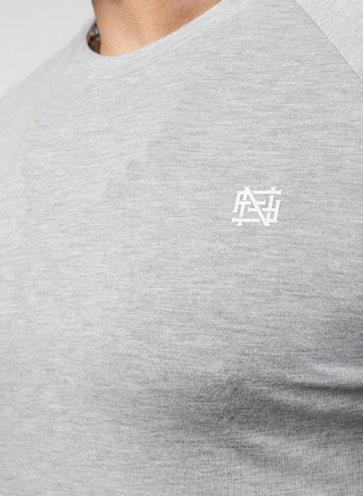 MONOGRAM PREMIUM LONG SLEEVE - GREY