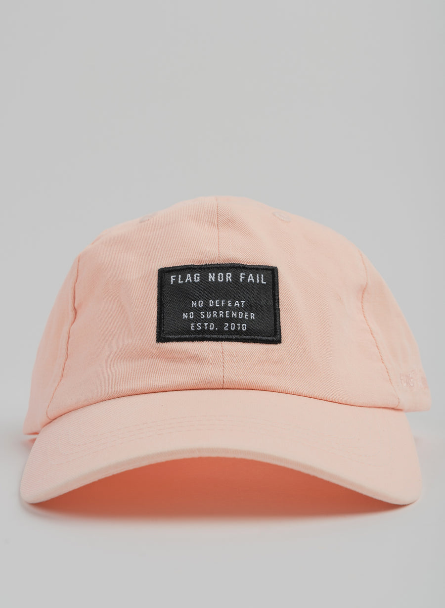 NO DEFEAT DAD HAT - PINK