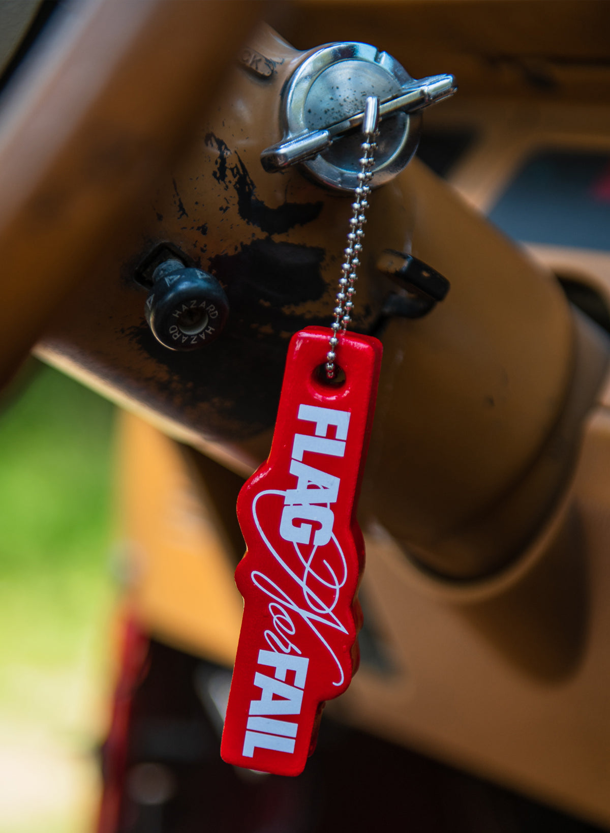 FNF FLOATY KEY CHAIN - RED