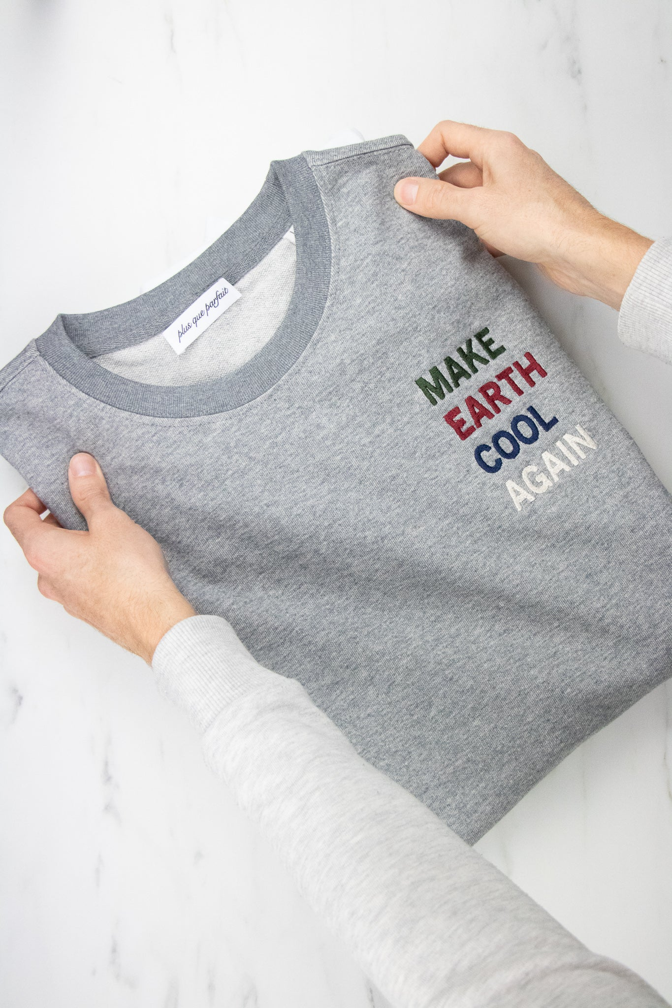 MAKE EARTH COOL AGAIN SWEATSHIRT