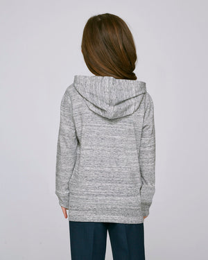 LIGHTWEIGHT HOODIE HEATHER GREY