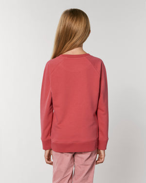 INTO THE WILD SWEATER - RASPBERRY RED