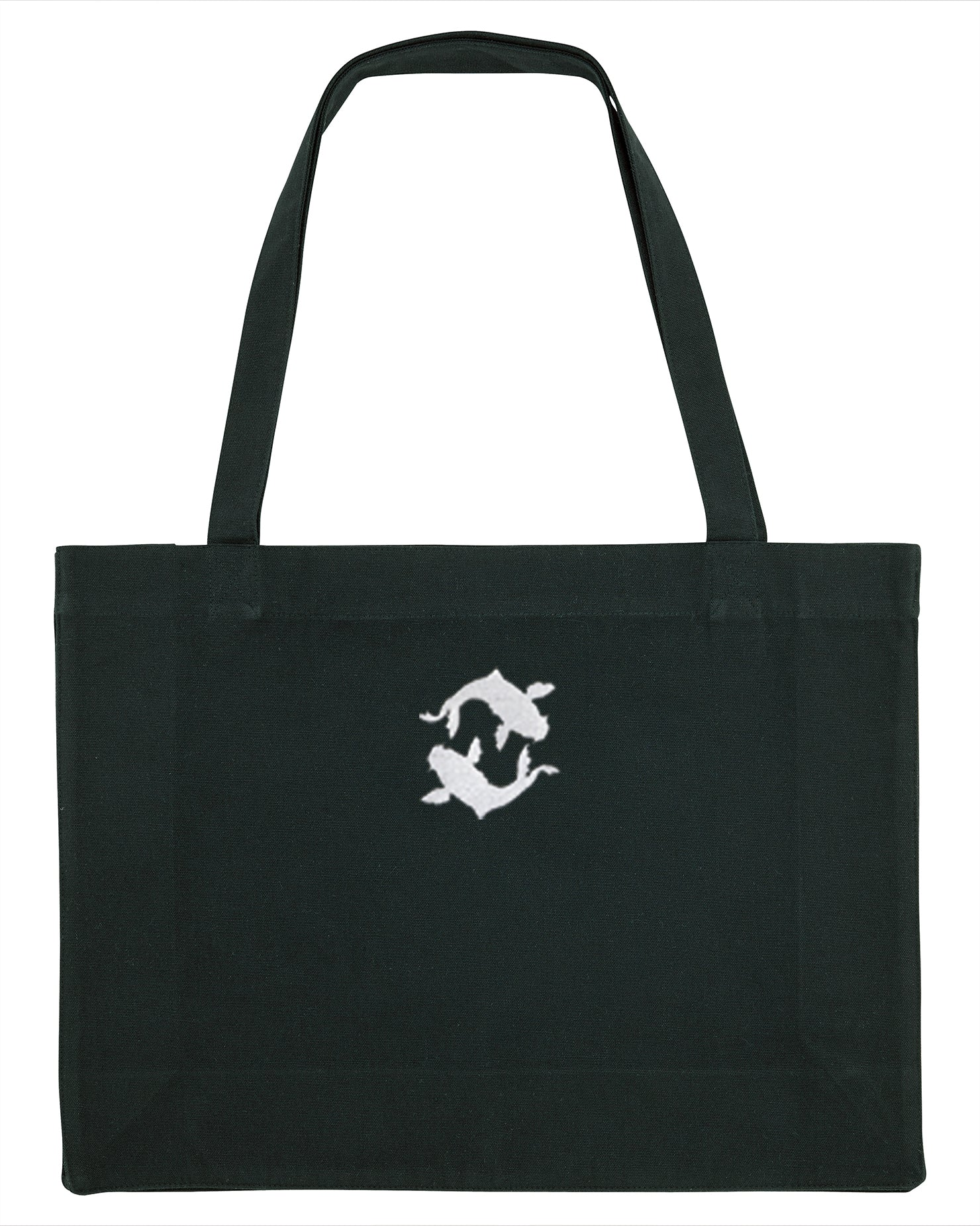 Oversized recycled tote