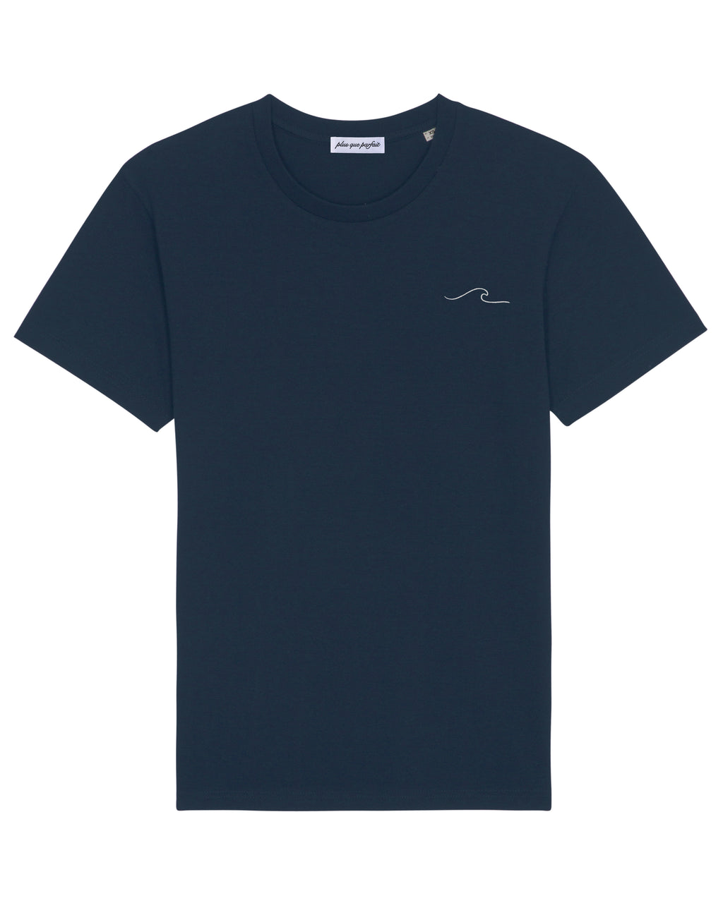 NAVY WAVE T-SHIRT