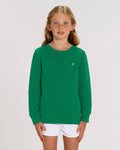 GREEN ICONIC P SWEATER