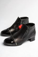 Load image into Gallery viewer, Ara Graz | Wide Fitting Black Leather Boots