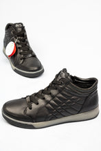 Load image into Gallery viewer, 12-44493 Ara Rom Black Leather Trainers for sale online ireland
