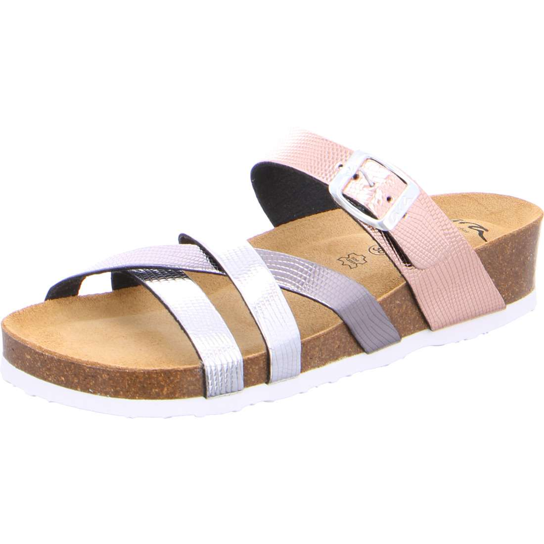 1217272 11 Ladies Bali Wedge Mule Sandals for sale online Ireland pink