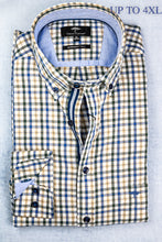 Load image into Gallery viewer, Fynch Hatton 12205030 | Chest Pocket Check Shirt