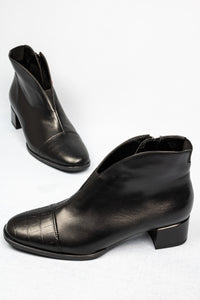 12-16625 Ara Elastic Front Gusset Black Ankle Boots for sale online ireland