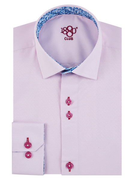 Boys Communion Pink Shirt