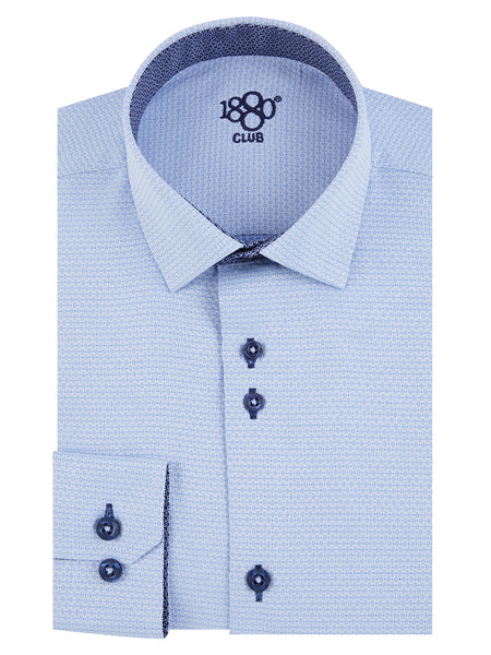 Boys Communion Blue Shirt