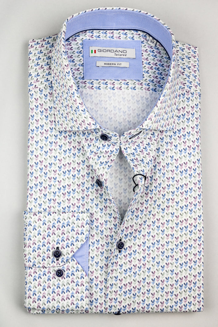 207844 Giordano Printed Men's Shirt for sale online Ireland