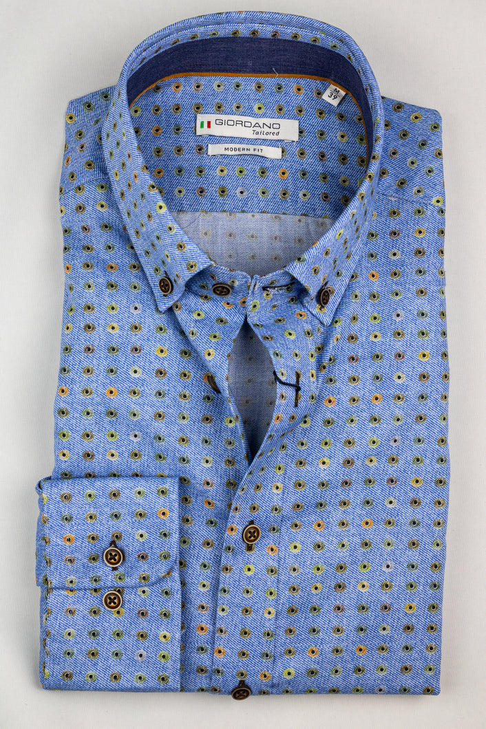 207859 Giordano Printed Men's Shirt for sale online ireland