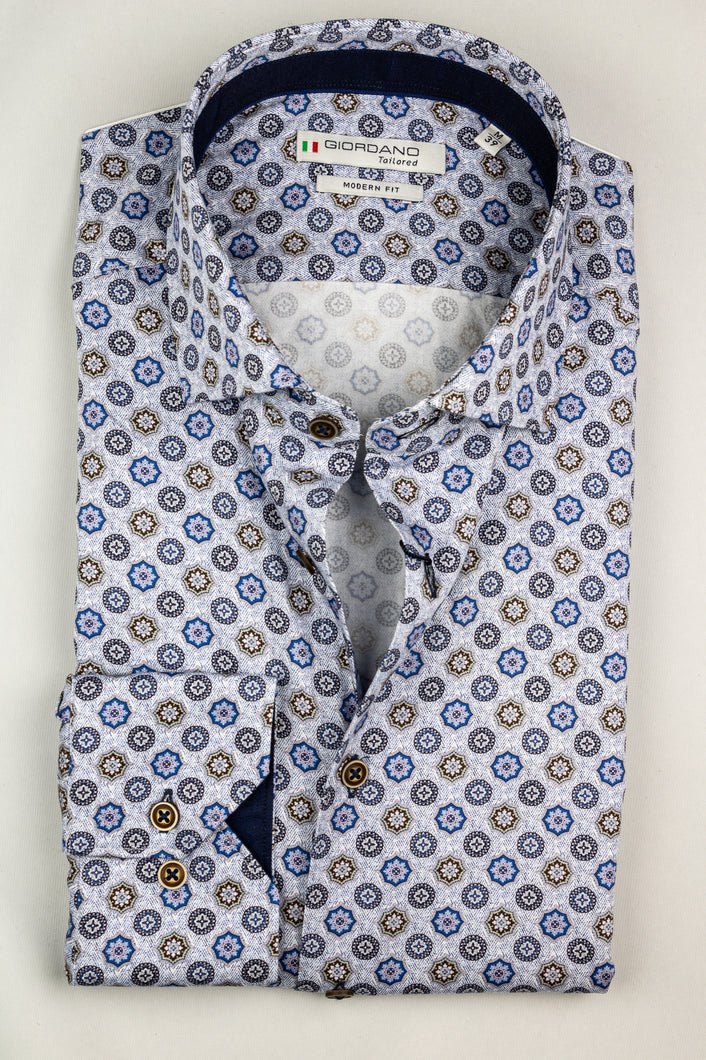 207878 Giordano Printed Men's Shirt for sale online ireland