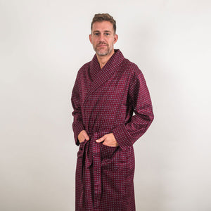 Somaz SW15 Gown | Men's Mid-Weight Cotton Dressing Gown