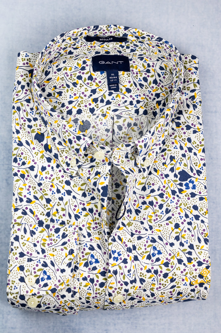 3009270 Gant Printed City Branches Men's Shirt for sale online ireland
