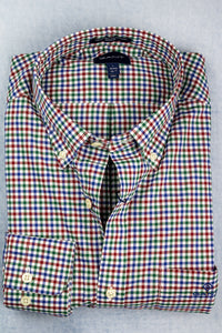 3060400 Gant 3 Colour Gingham Men's Shirt for sale online ireland