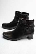 Load image into Gallery viewer, 52.824.57 Gabor Ladies Black Zip Ankle Boots for sale online ireland