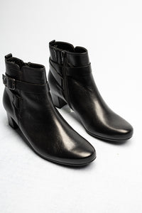 52.824.57 Gabor Ladies Black Zip Ankle Boots for sale online ireland