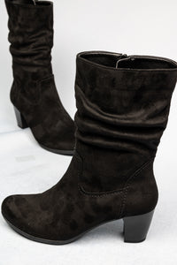 55.804.47 Gabor Ladies High Black Microvelour Boots for sale online ireland