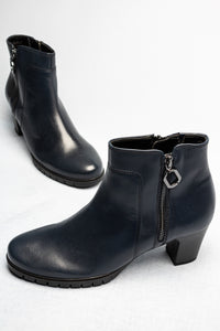 Gabor 56.591 | Hidden Elastic Leather Ankle Boot