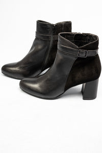 8-25319-25 001 Black Jana Ankle Boots for sale online ireland