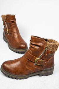 8-26420-25 328 Chestnut Jana Ladies Ankle Boots for sale online ireland