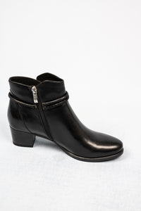 Caprice 25307 | Leather Ankle Boots