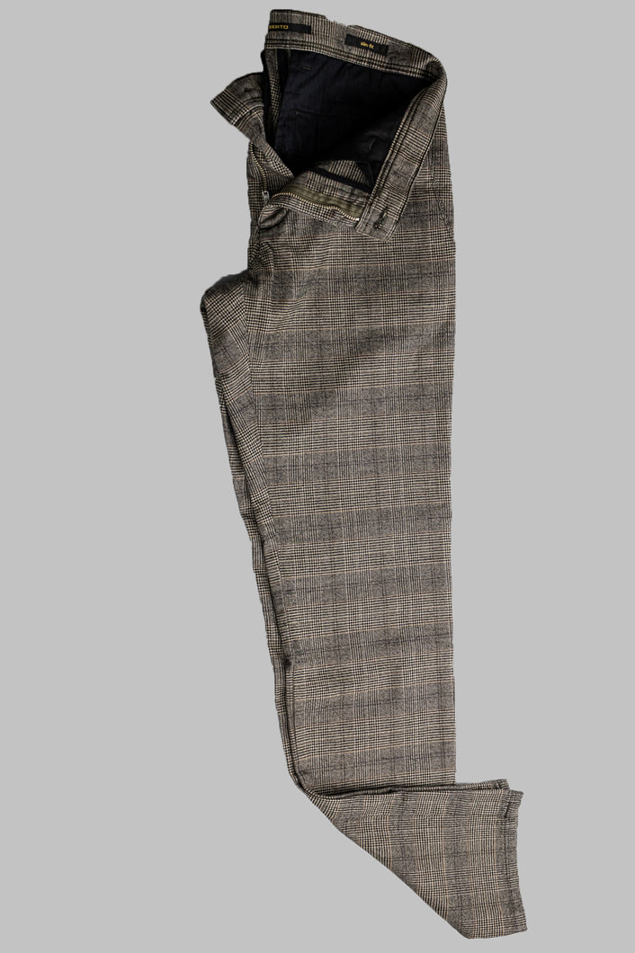 Alberto 1223-085 6287 Rob Slim Fit Check Chino for sale online ireland