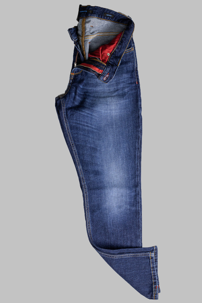 Alberto 1270-890 6837 Slipe Tapered Fit Blue Jean for sale online ireland