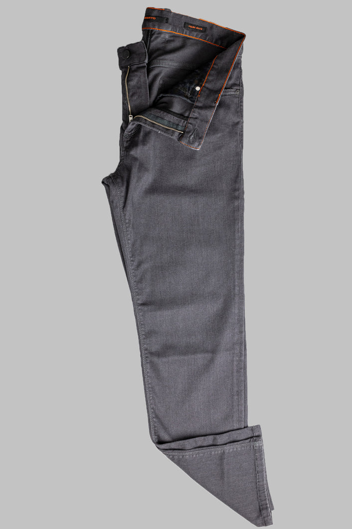 Alberto 4807 1684-995 Grey Pipe Regular Slim Fit Jean for sale online ireland