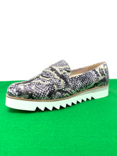 Load image into Gallery viewer, Sabrina; Twisted Python | Amy Huberman Platform Trainers for sale online ireland