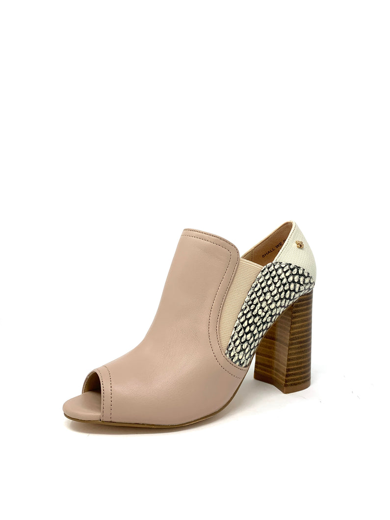 Shall We Dance | Amy Huberman Block Heels with Peep Toe for sale online ireland