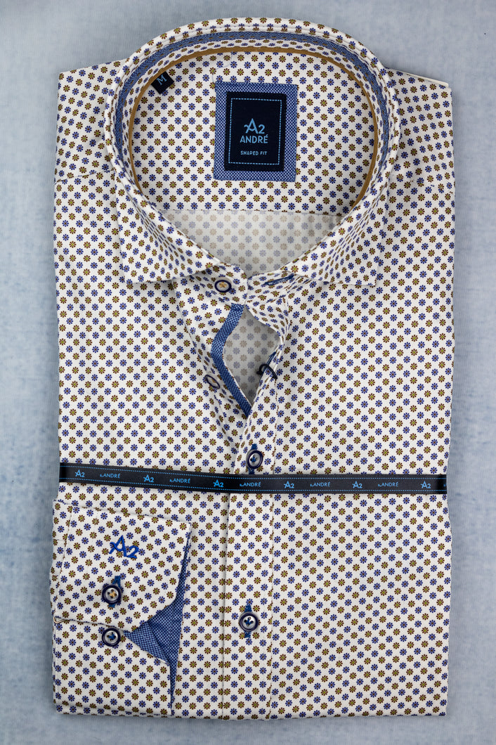 Andre A2 Como Taupe Men's Shirt for sale online Ireland