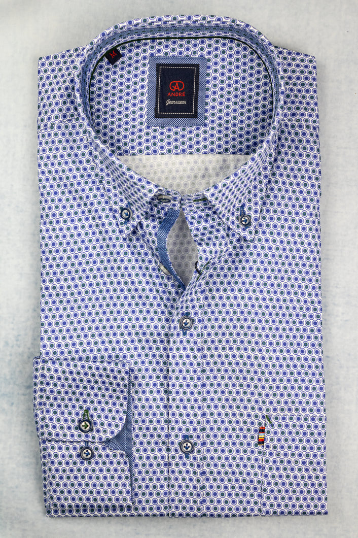 Andre Foyle | Printed Shirt