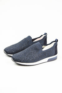 Ara Slip On Elasticated Shoes 12.24067 in Blue for sale online Ireland