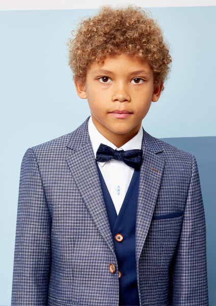 Boys Nigel Navy Communion Suit